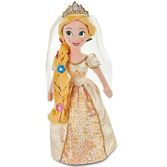 美国正品disney迪士尼 可爱公主毛绒娃娃 身高51cm 多