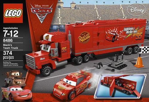 美国正版乐高lego 汽车总动员 卡车麦克迷 绝版 闪电麦昆