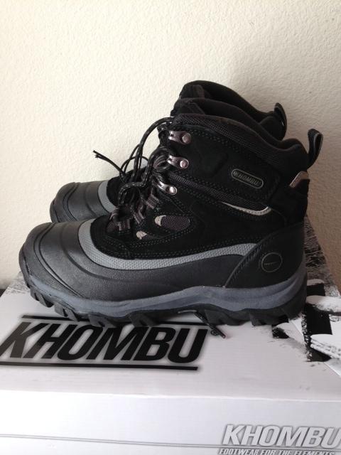 男士防水防滑雪地靴