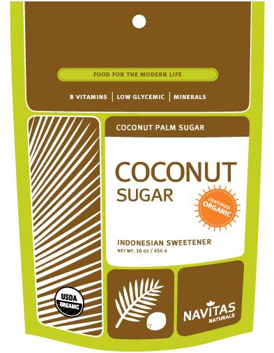 美国Navitas Naturals有机椰子糖低糖指数糖尿病代糖老少宜454克