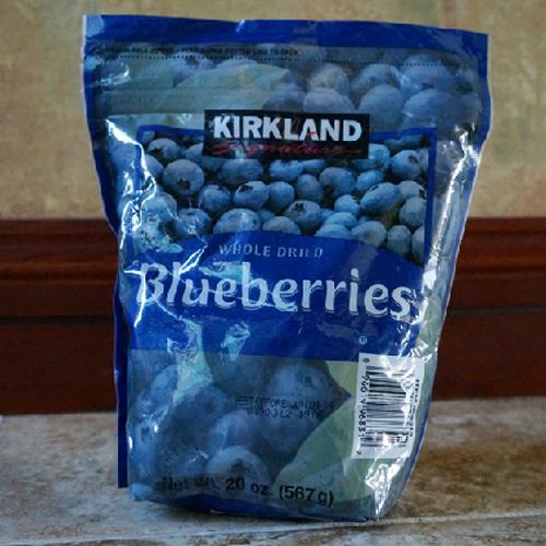 特价现货美国正品Kirkland特级蓝莓干 567g 护眼抗氧化防辐射