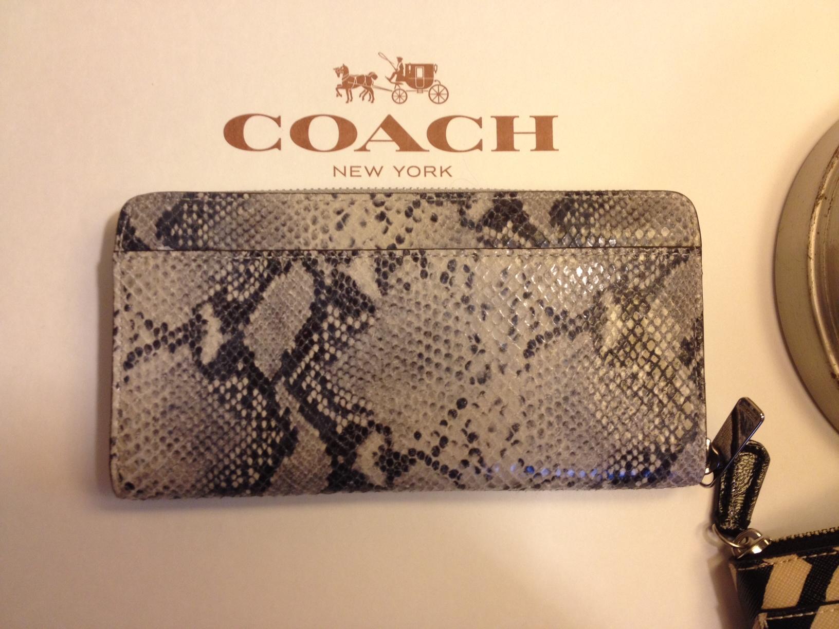 Coach replica wallets