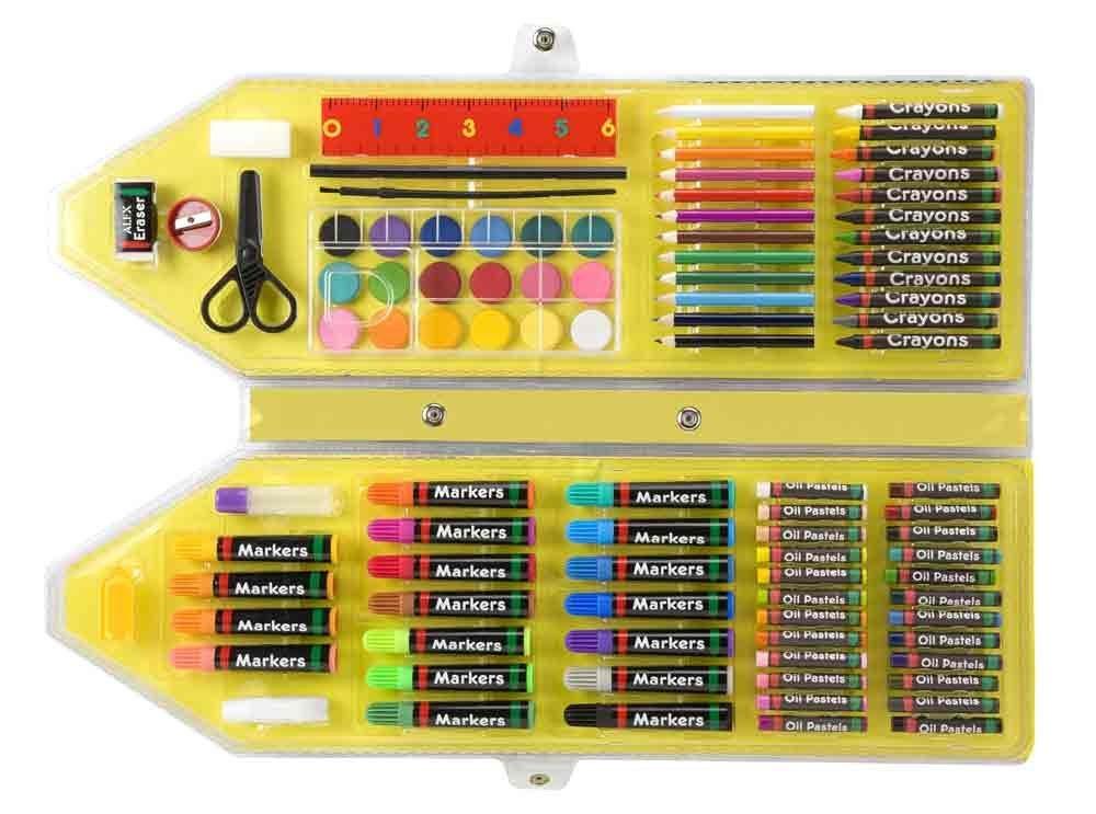 美国alex儿童美术绘画工具盒爱丽克丝文具盒图片