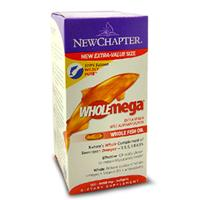 美国New Chapter阿拉斯加纯净野生三文鱼油 180粒