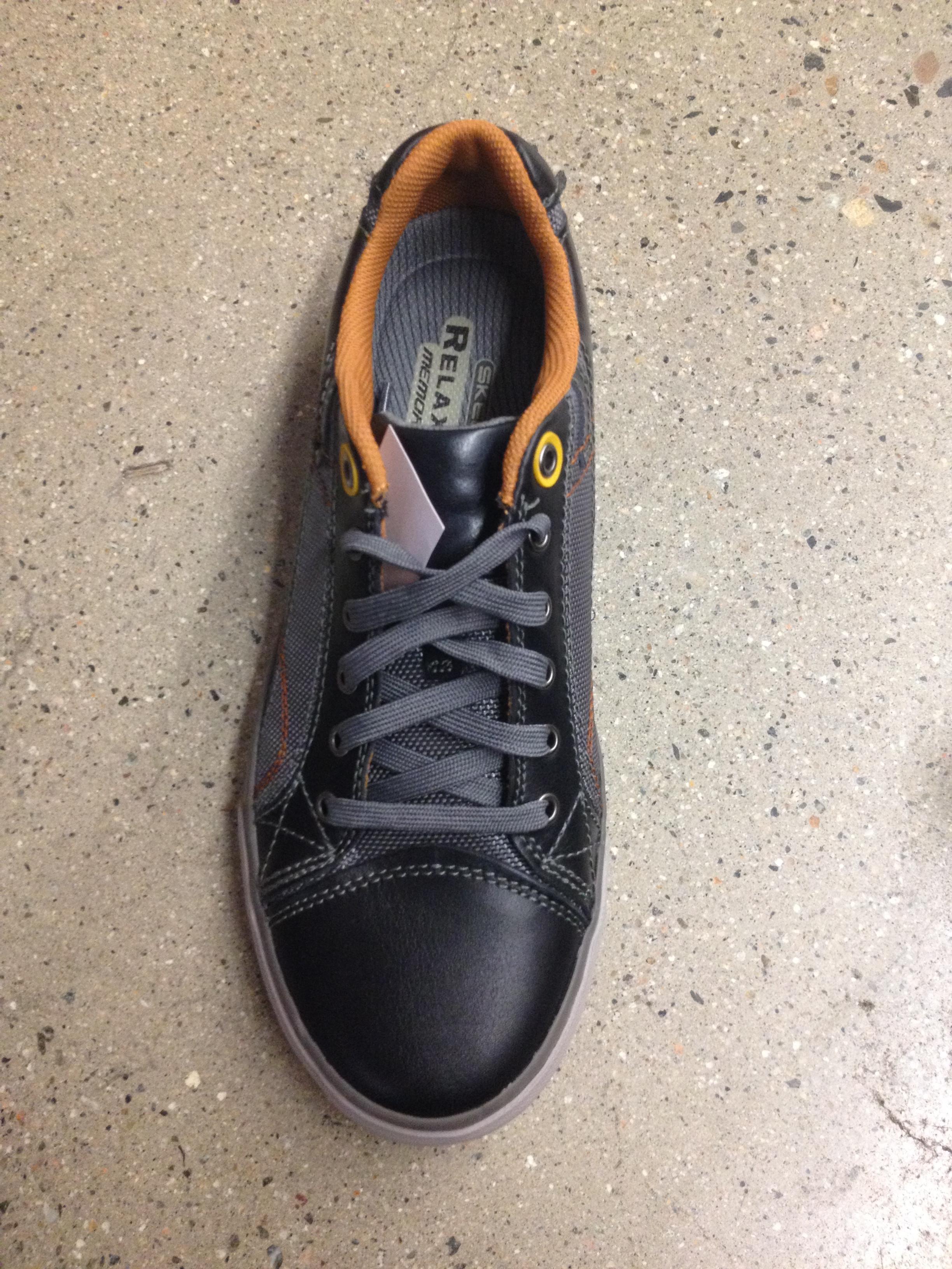 fit带气孔系鞋带男士鞋