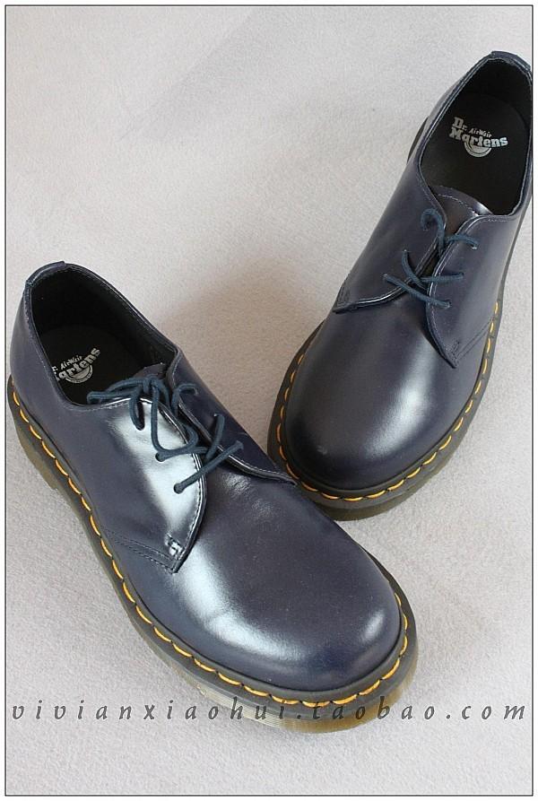 martens 马丁低帮女鞋