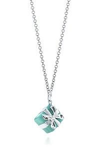美国 tiffany/【美国正品代购】Tiffany Blue Box蒂芙尼特款经典蓝礼盒银质项链