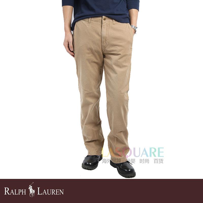 拉尔夫/POLO RALPH LAUREN 拉尔夫 劳伦纯棉男士休闲长裤