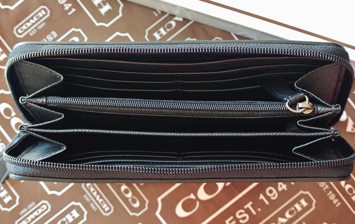 coach f74546男式长款钱包钱夹