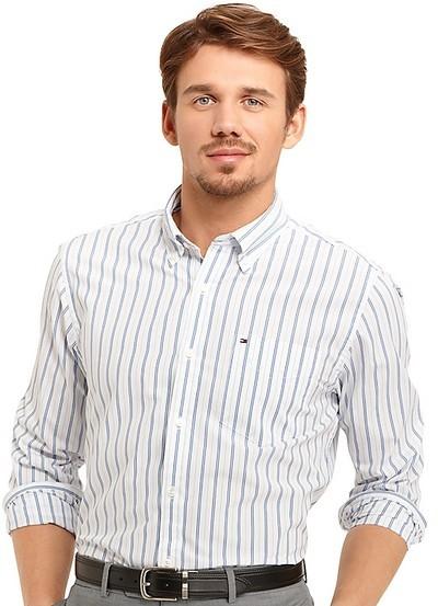 TOMMY Hilfiger汤米男士商务休闲衬衫 两款