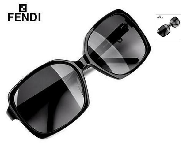 美国现货 奢侈品牌fendi芬迪 简约优雅方框太阳镜fs5204 玳瑁色