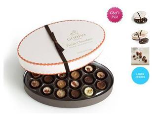 情人节礼物 GODIVA歌帝梵 Parfait甜点杯松露巧克力礼盒 18颗装
