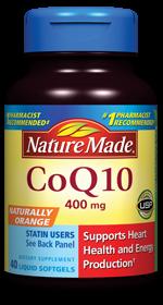 免运费!包美国直邮 Nature Made CoQ10辅酶Q10 高含量400mg