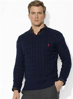 【一秒一淘1M1T】美国代购Ralph Lauren POLO拉夫劳伦圆领毛衣