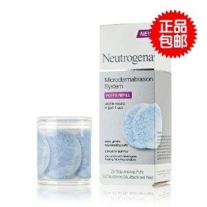 美国直邮 Neutrogena露得清磨皮系统替换刷头(24个装)