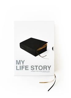 风靡日本欧美Suck uk My Life Story我的人生书 日记本 -黑色