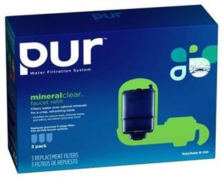 美国直邮 PUR 水龙头三层深度净水系统滤芯