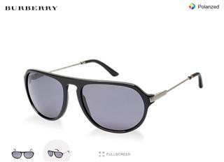 美国代购BURBERRY巴宝莉墨镜 太阳镜 正品BE 4116 300181偏光