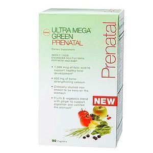 GNC 超级孕妇/哺乳期绿源综合维生素 90粒x2盒孕妇营养