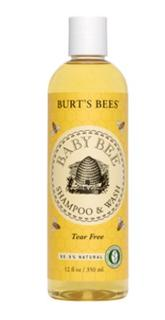 【Burt's Bees】【Baby Bees】新:无泪配方二合一洗发沐浴露2瓶