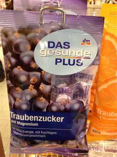 捷克代购Das Gesunde Plus葡萄糖+10种维生素儿童补营养 黑加仑味