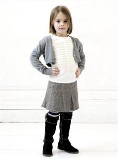 Toobydoo儿童百分之百羊毛短裙(原价62美金不加税)