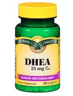 免运费包美国直邮Spring Valley DHEA养巢卵巢保养做试管必备25mg