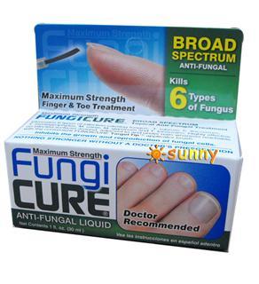免运费!包美国直邮美国医生推荐 Fungi Cure 特效治疗灰指甲脚气