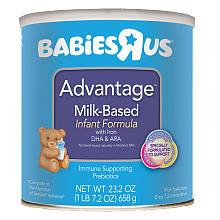 美国直邮Babies R Us 营养配方奶粉 0-12个月 658 g