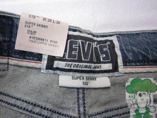 Levi's 李维斯男式510 小脚牛仔裤