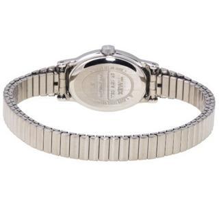 美国直邮 TIMEX天美时钢表带女式手表T21902 防水