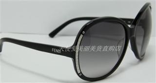 美国正品代购 FENDI芬迪 FS 5099 001黑色 太阳镜墨镜眼镜 美国直邮