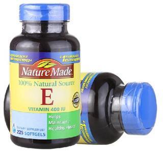 (美国直邮)Nature Made 100%纯天然液体维生素E VE 400IU 225粒
