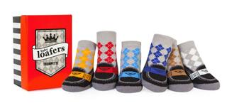 【包邮】美国潮袜Trumpette宝宝防滑鞋底婴儿袜礼盒6双12只一盒