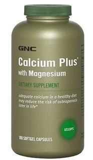 【美国直邮】GNC Calcium Complete 健安喜 固加力软胶囊 180粒