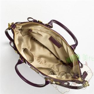 美国现货特价 COACH 18627 麦迪逊 酒红 漆皮大包