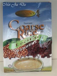 美国直邮马来西亚GoldChoice金宝牌绿色养生即溶卵磷脂糙米 600克