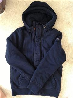 Abercrombie&Fitch(AF)男士夹棉卫衣(hoodie)