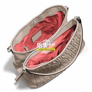 美国代购 COACH 25260 Madison麦迪逊系列 经典褶皱手提单肩 女包