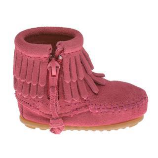 FOXXY 美代 正品迷你唐卡双层流苏婴童鞋侧拉链短靴