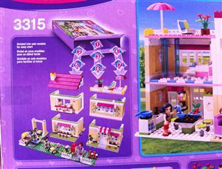 乐高 LEGO拼插积木玩具 Friends女孩系列 奥莉薇亚的房子L3315