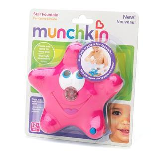 美国Munchkin麦肯奇洗澡玩具戏小星星喷泉 不含BPA进口 海星