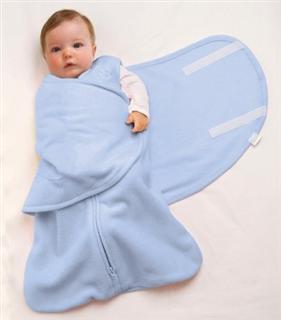 美国原装直邮 Halo最软最舒服的两合一宝宝睡袋-新生儿款0-6月