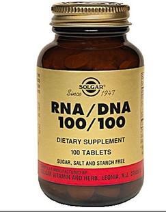 免运费!包美国直邮 Solgar核酸 RNA DNA 抗老化增强记忆力100粒