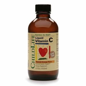 防流感抗感冒!美国ChildLife童年时光维生素c提高免疫力Liquid Vitamin C, Orange