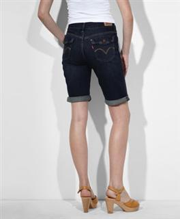 美国代购正品Levi's女士牛仔短裤#339740001
