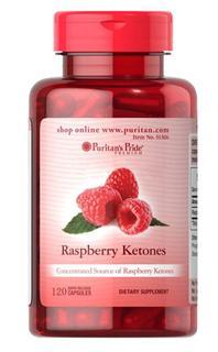 (美国直邮 2瓶或3瓶)Puritan's Pride树莓覆盆子酮超级脂肪燃烧弹 120粒