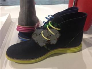 美国代购Cole haan 真皮 女士短靴新款牛津鞋英伦风LunarGran