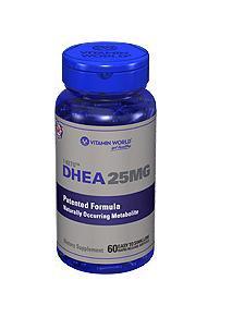免运费!包美国直邮Vitamin World 青春素 DHEA 25mg 60粒胶囊