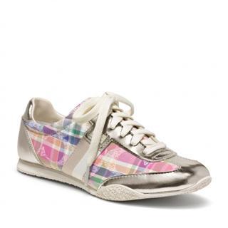 美国代购专柜正品Coach 鞋 蔻驰女式运动鞋Q986